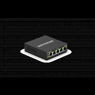 Netgear GS305E Géré Gigabit Ethernet (10/100/1000) Noir