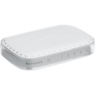 Netgear GS605-400PES commutateur réseau Non-géré L2 Gigabit Ethernet (10/100/1000) Blanc