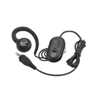 Zebra HDST-35MM-PTVP-01 casque et micro Monophonique crochet auricullaire Noir