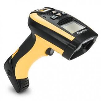 Datalogic PowerScan PM9300 Lecteur de code barre portable 1D Laser Noir, Jaune